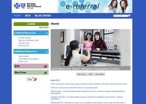 e-Referral - Home